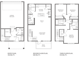 lombard new home floor plan altius townhomes streetside