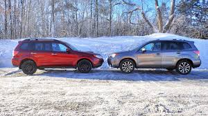subaru forester lowered 2017 subaru forester xt vs 2011 subaru forester xt new vs old