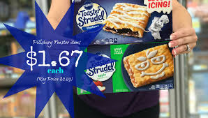 Pillsbury Toaster Strudel Flavors Pillsbury Toaster Items Only 1 67 Each At Kroger Kroger Krazy