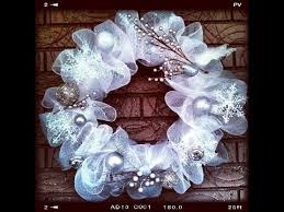 christmas mesh wreaths how to make geo or deco mesh wreath easy tutorial