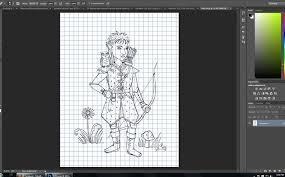 creating coloring sheet gnome ranger u2014 short leg studio