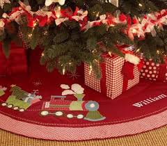 personalized tree skirt cotton tree skirt