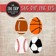 sports easter eggs sports eggs easter svg sofontsy