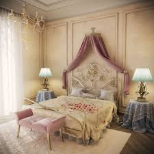 white vintage bedroom white frieze rug cream gold king bed wooden