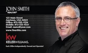 Keller Williams Business Cards Real Estate Business Card Sticker Template