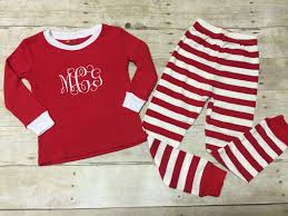 personalized monogrammed pajamas monogram