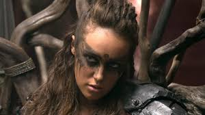 the 100 alycia debnam carey on fan reaction to lexa u0027s fate ign