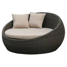 Outdoor Wicker Daybed Newport Outdoor Wicker Day Bed Brushed Charcoal Buy Outdoor Day Beds