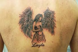 25 holy angel tattoos for men slodive