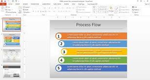 process flow chart template powerpoint simple process flow