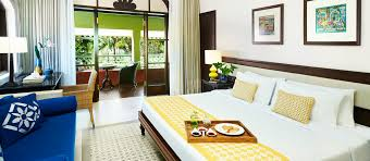 superior garden room with balcony at taj holiday village goa