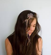 feather hair give yourself feather hair extensions the hairpin