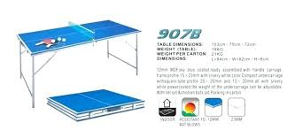 what size is a regulation ping pong table ping pong table measurements ping pong table sizes clearances