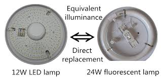 circular fluorescent light led replacement replace round fluorescent light with led meganraley
