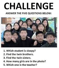 Challenge Asian Answer The Five Questions Below Level Asian Your Meme