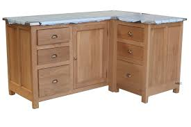 meuble cuisine en pin meuble de cuisine d angle en chene ou pin massif