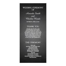 Simple Wedding Program Templates 177 Best Wedding Program Card Images On Pinterest Wedding