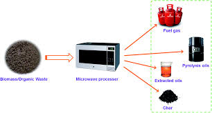 an overview of a novel concept in biomass pyrolysis microwave