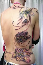Big Flower Tattoos On - image detail for big flower on back tattoos