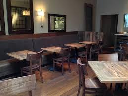 Restaurant Table Tops by Reclaimed Wood Restaurant Tables Black U0027s Farmwood Reclaimed