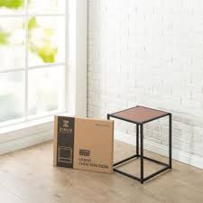 amazon com zinus modern studio collection classic cube side table