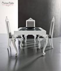 Table Salle A Manger Verre Design by Table à Manger Design Nouveau Baroque En Bois En Verre