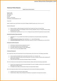 Medical Writer Resume Document Writer Resume