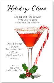 christmas invitations candy martini invitations christmas invitations