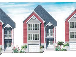 narrow lot home plans claybourne park narrow lot home plan 032d 0636 house plans and more