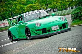 rwb porsche grey 993 rauh welt porsche resin kit on the workbench model cars