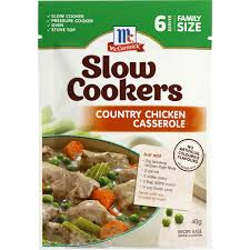 mccormick slow cookers country style casserole 40g woolworths