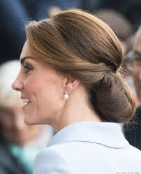 the secret to kate middleton u0027s perfect chignon is a hairnet