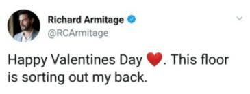 richard armitage on twitter