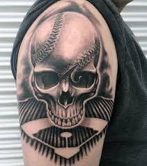 67 amazing baseball tattoos for sports