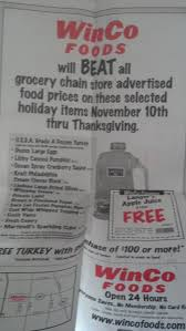 winco foods stepping up for thanksgiving freebies2deals