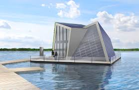 floating houses inhabitat green design innovation german scientists design state of the art floating home for europe s largest artificial lake district