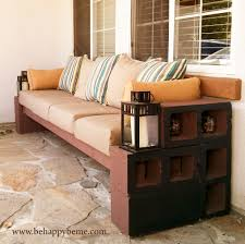 Diy Patio Cushions Diy Outdoor Seating Be Happy U2026 Be Me