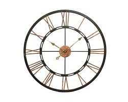 Wall Clocks by Huge Metal Wall Clock For Interior U2013 Wall Clocks