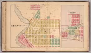Cambria Map Kilbourn City And Cambria Columbia County Wisconsin David