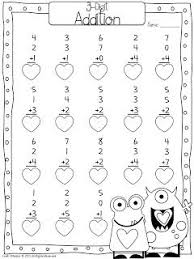 valentine math worksheets first grade free worksheets library