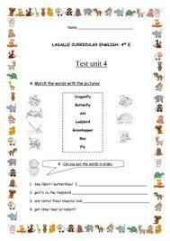 32 free esl grade 4 worksheets