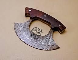 best american made kitchen knives damascus ulu kitchen knife custom handmade kitchen damascus ulu