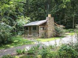 country cabin tranquil authentic log homeaway asheville
