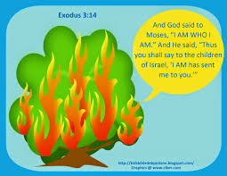 bible fun for kids moses burning bush