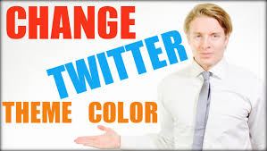 twitter blue color how to change your twitter theme color u2013 tutorial waatz com