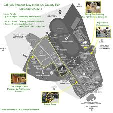 cal poly pomona cus map and pride at cal poly pomona day at the fair