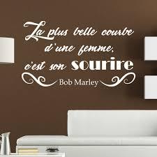 chambre bob marley sticker citation courbe d une femme de bob marley stickers