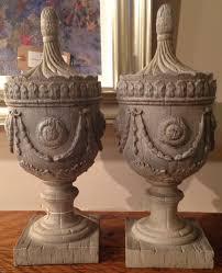 decorative urns pair of decorative urns in decorative items