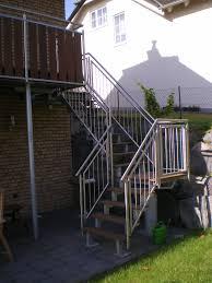 balkon mit treppe treppen müller bauschlosserei windhagen metallbau bad honnef