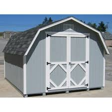 amazon com little cottage 12 x 10 ft classic wood gambrel barn